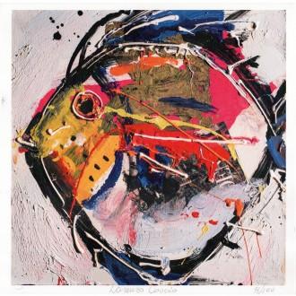 Pesce Litografia di Lorenzo Cascio