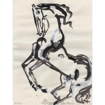 Cavallo rampante by Lorenzo Cascio