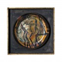 ceramic plate Lorenzo Cascio