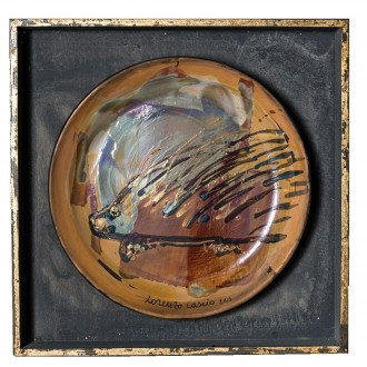 Piatto ceramica Lorenzo Cascio