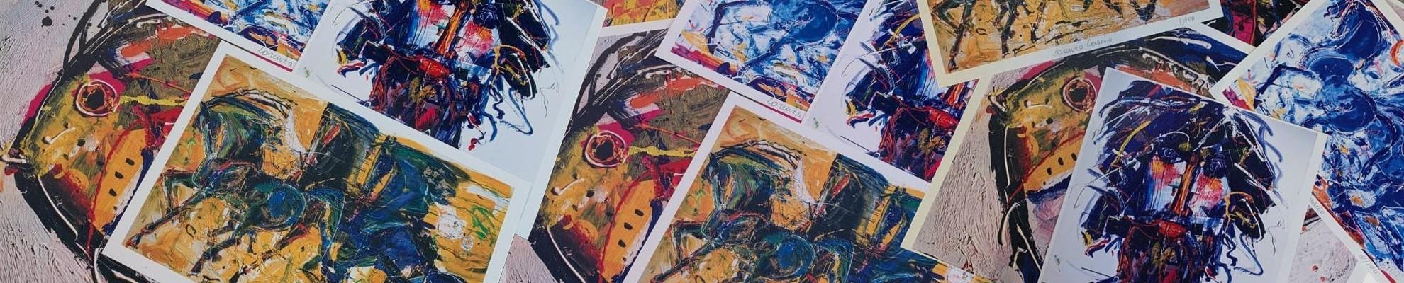 Litografie e disegni di Lorenzo Cascio
