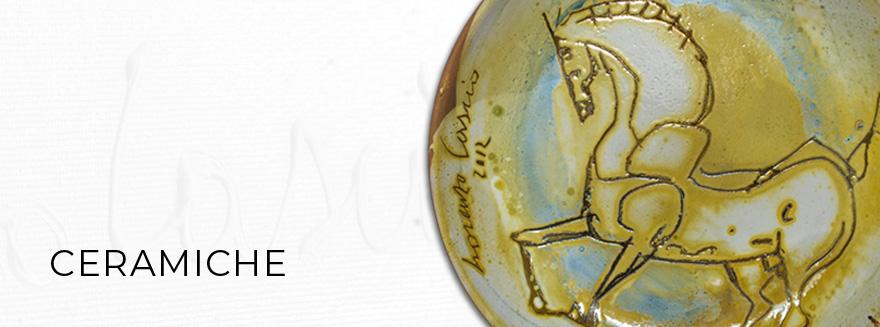 Le ceramiche di Lorenzo Cascio