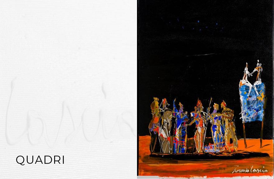 I quadri di Lorenzo Cascio